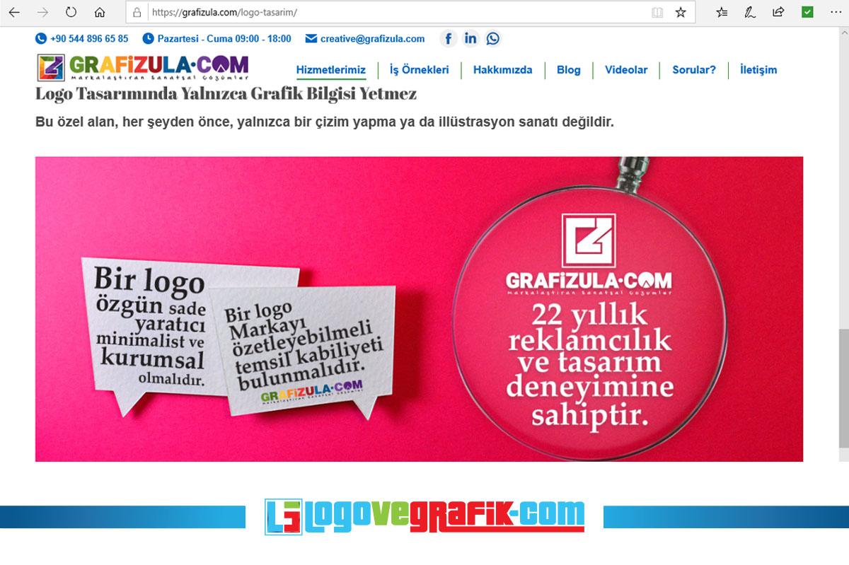 grafizula.com profesyonel logo tasarım hizmetleri verir.