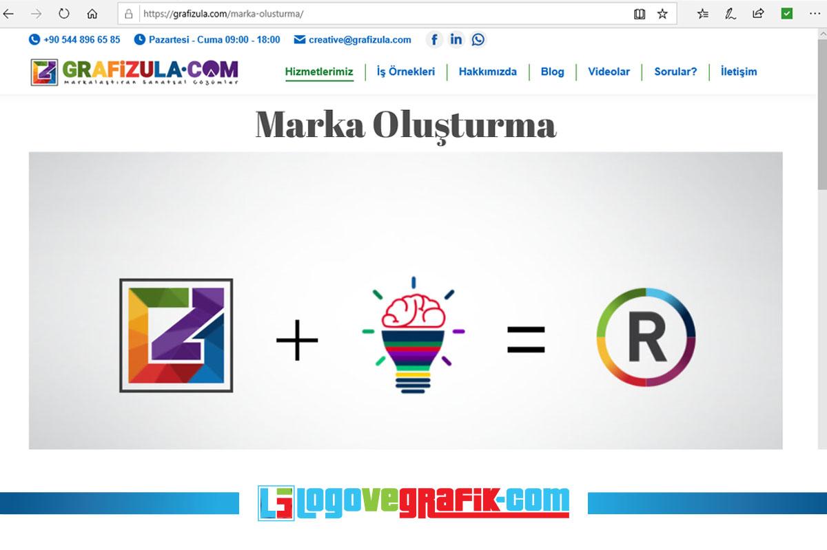 grafizula.com marka oluşturma işinde tam bir profesyoneldir.