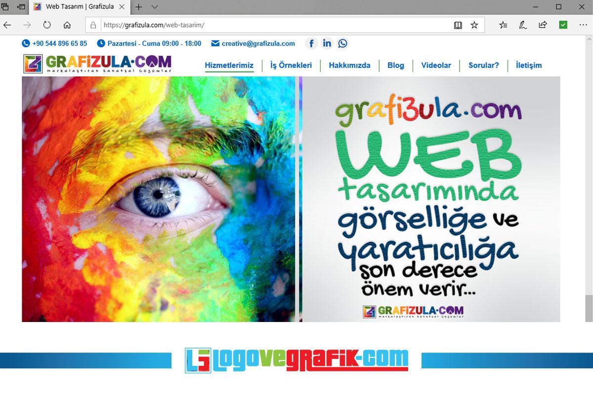 grafizula.com web tasarım konusunda son derece tecrübelidir.